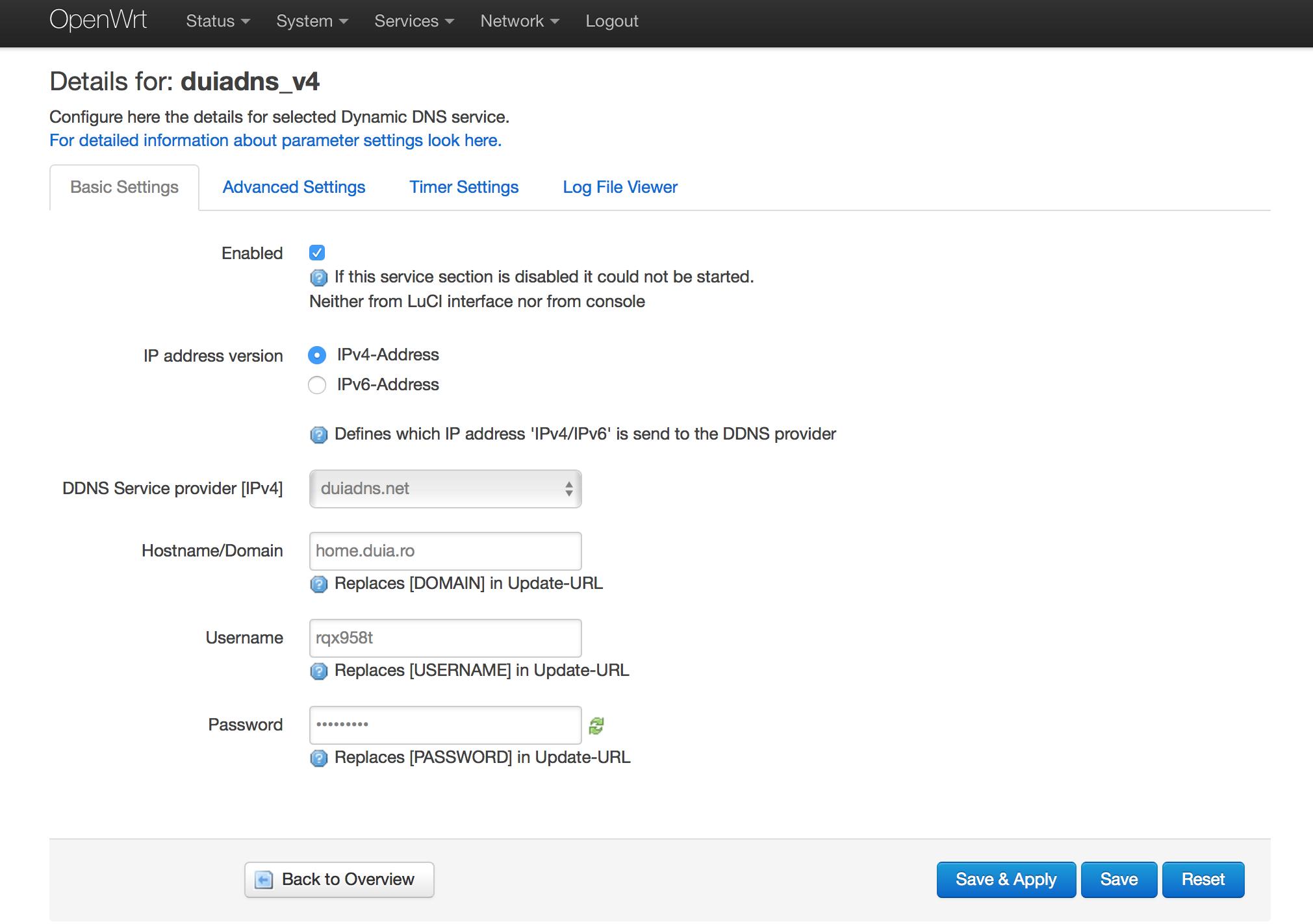 duiadns net | Blog post - openwrt firmware config